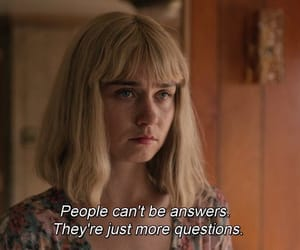 answers, movie, and people image