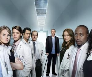 cast, dr house, and hugh laurie image