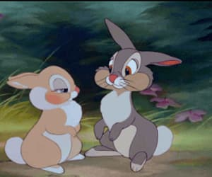 disney, kiss, and bunny image