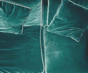 green and sofa image