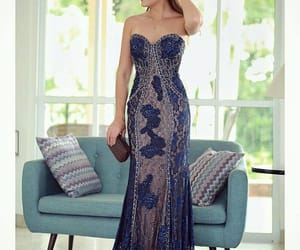 clothes, dress, and chic dress image