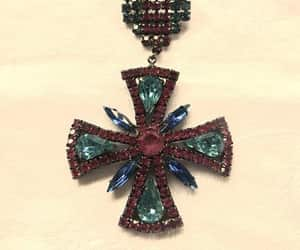 etsy, cross jewelry, and maltese cross pin image