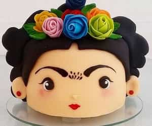 cake, delicious, and frida kahlo image