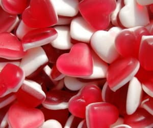 candy, red, and red and white image