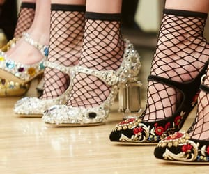 fashion, haute couture, and legs image