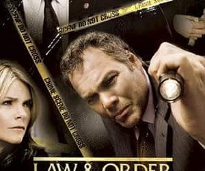 law and order, tv series, and dick wolf image