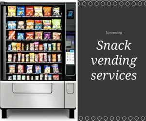 snack vending services, soda machine service, and healthy snack vending image