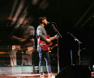 aesthetic, concert, and guitar image