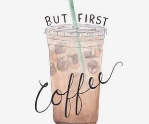 coffee, coffee addict, and iced image