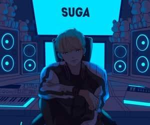 bts and suga image