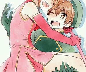 anime, sakura kinomoto, and kawaii image