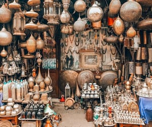 beautiful, lamps, and marrakech image