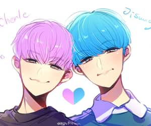 anime, kpop, and kpop fanart image