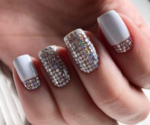 alternative, crystal, and nail image