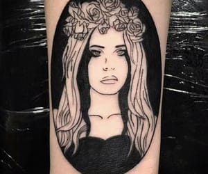 tattoo, alternative indie, and lana del rey image