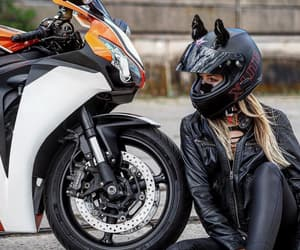 awesome, motorcycle, and bikerchick image