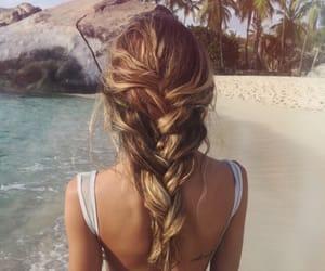 blonde, braids, and browne image
