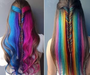 colors, hair, and lovely image