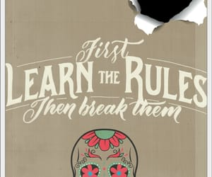 learn, rules, and calabera image