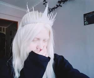 albino, alternative, and black image