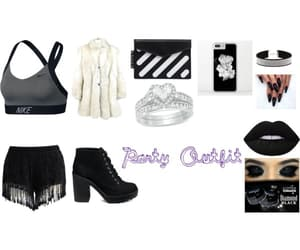 party, runway, and party night image