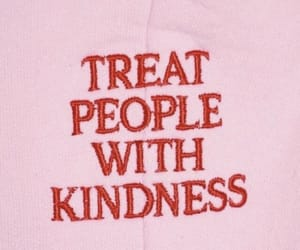 pink, quotes, and kindness image