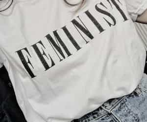 feminist, article, and fashion image