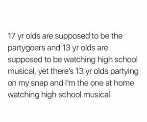 13, 17, and high school musical image
