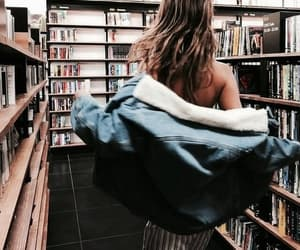 book, girl, and fashion image