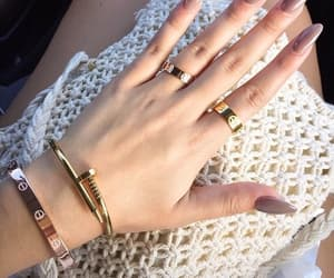 accessoires, fashion, and nails image
