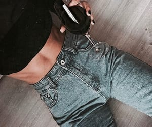 fashion, jeans, and wine image