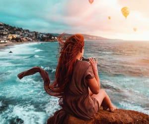balloons, beautiful, and fantasy image