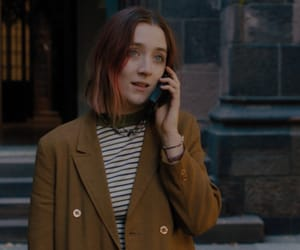 lady bird, Saoirse Ronan, and gif image