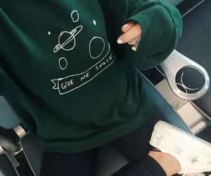 green, outfit, and aesthetic image