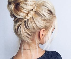 braid, hairstyle, and tumblr image
