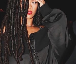 rihanna, beauty, and black image