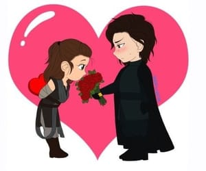 chibi, kylo ren, and star wars image