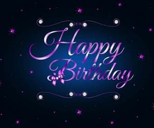 birthday, greetings, and happy birthday greetings image