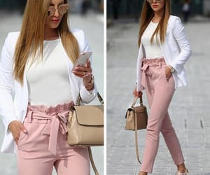 bag, outfit, and pants image