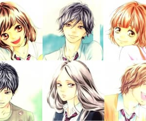 anime, futaba, and ao haru ride image