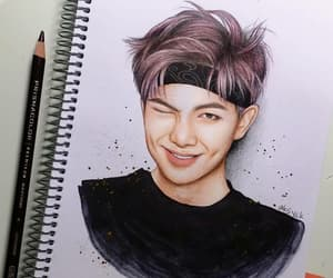 art, drawing, and 김남준 image