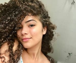 cheeks, girl, and curls image