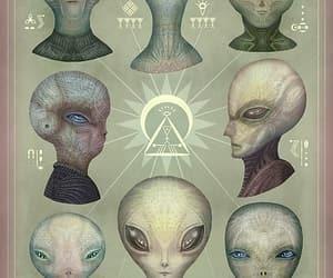 alien, aliens, and creature image