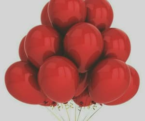 red and balloons image
