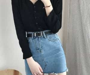 outfit, beauty, and girl image