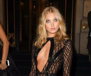 elsa hosk, emporio armani, and fashion image