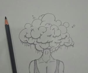 clouds, imagination, and sketching image