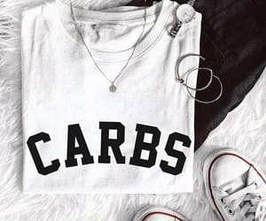 carbs, quote, and tumblr image