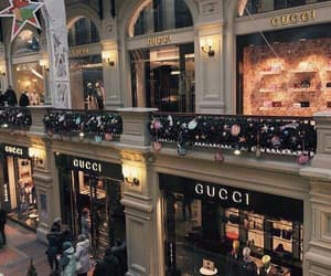 gucci, city, and shop image