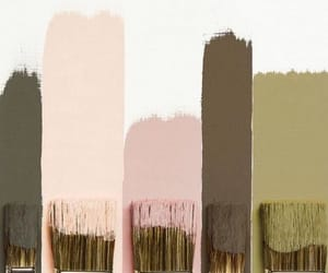 blush, brown, and paint image